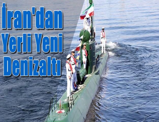 İran'dan Yerli Yeni Denizaltı