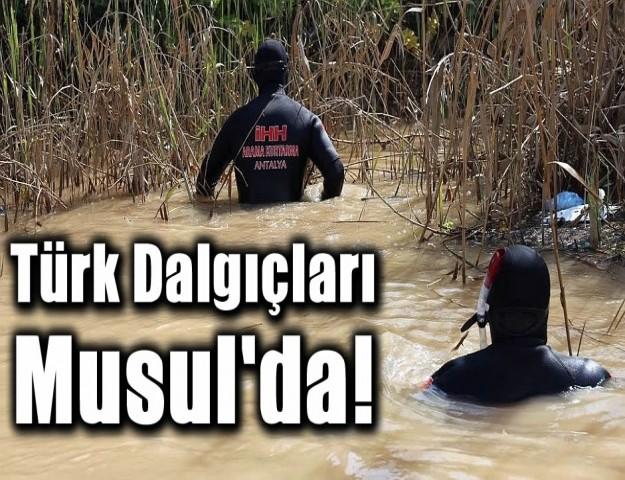 Türk Dalgıçları Musul'da!