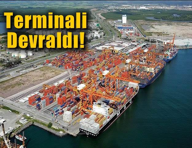 Terminali Devraldı!