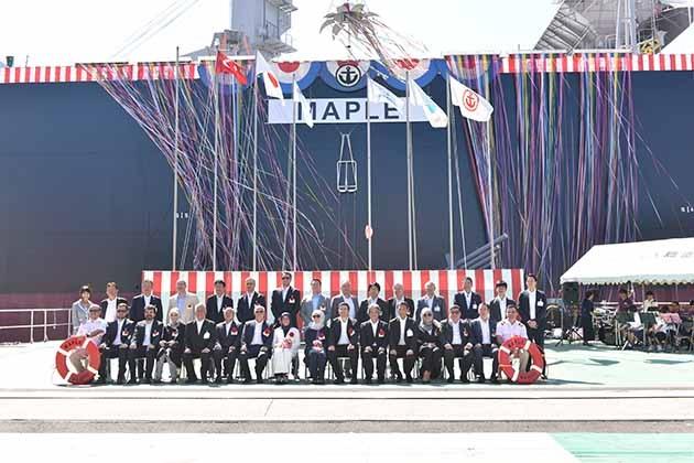 Kastamonu Entegre'nin Japon Oshima Tersanesi'ne İnşa Ettirdiği Gemi Suya İndi