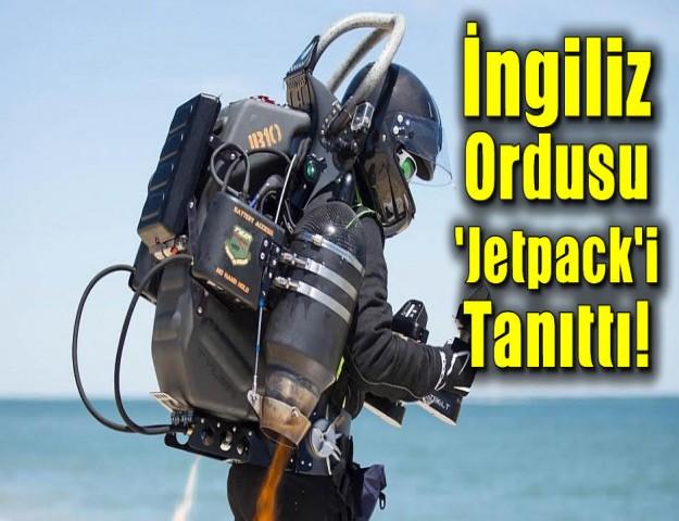 İngiliz Ordusu 'Jetpack'i Tanıttı!