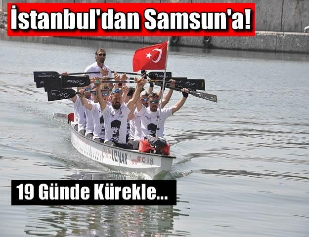 İstanbul'dan Samsun'a!