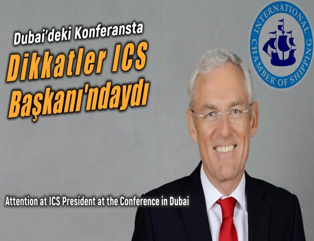 Dubai'deki Konferansta Dikkatler ICS Başkanı'ndaydı