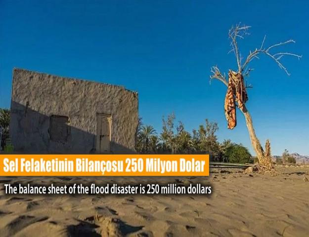 Sel Felaketinin Bilançosu 250 Milyon Dolar