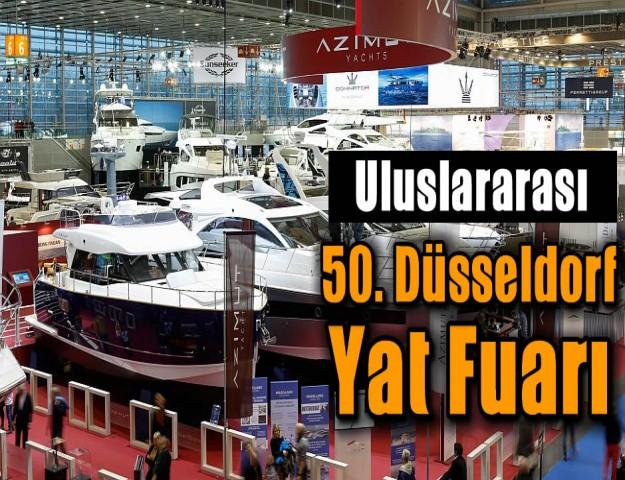 Uluslararası 50. Düsseldorf Yat Fuarı