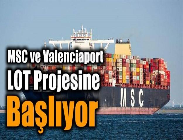 MSC ve Valenciaport loT Projesi Başlıyor