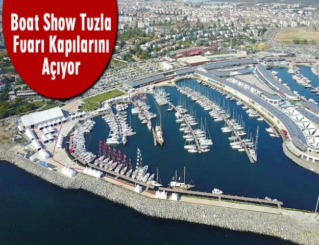 Boat Show Tuzla Fuarı Kapılarını Açıyor