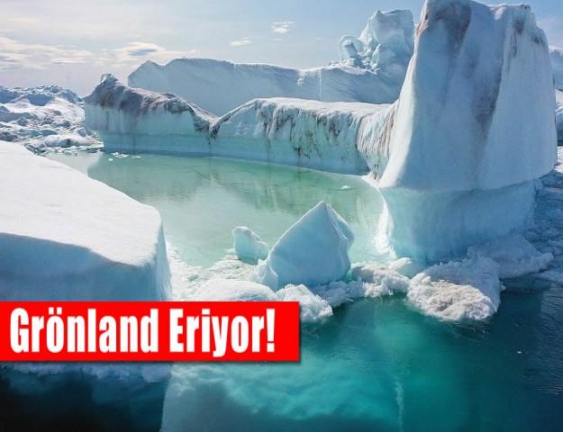 Grönland Eriyor!