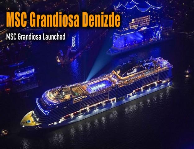 MSC Grandiosa Denizde