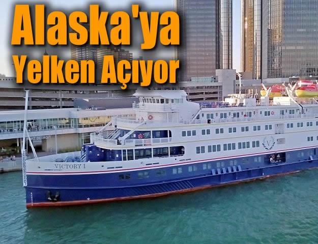 Alaska'ya Yelken Açıyor