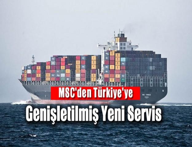 MSC'den Türkiye'ye Genişletilmiş Yeni Servis