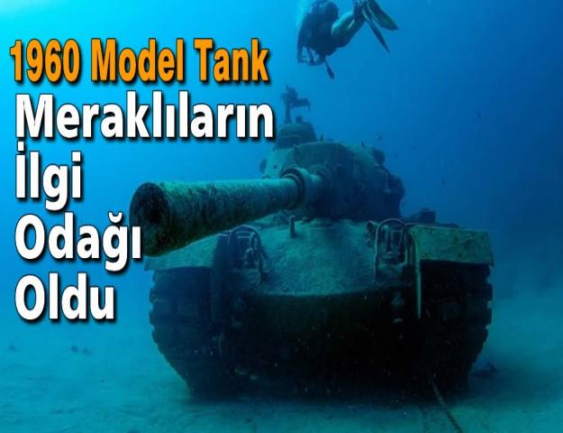 1960 Model Tank Meraklıların İlgi Odağı Oldu