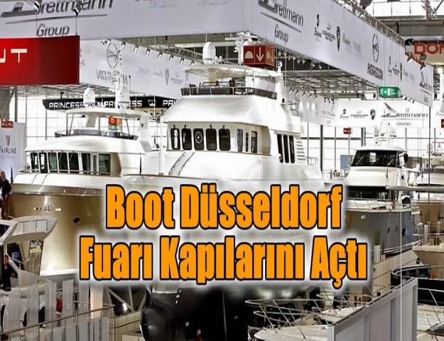 Boot Düsseldorf Fuarı Kapılarını Açtı