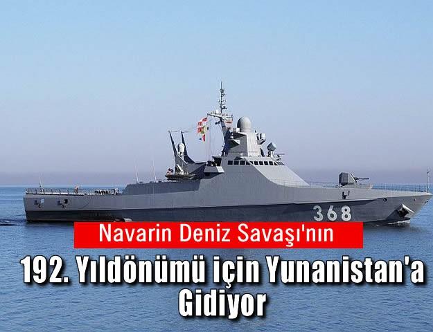 Navarin Deniz Savaşı'nın 192. Yıldönümü için Yunanistan'a Gidiyor