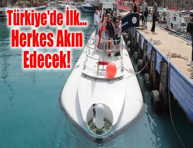 Türkiye'de İlk... Herkes Akın Edecek!
