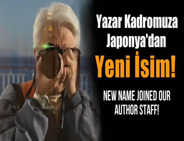 Yazar Kadromuza Yeni İsim Katıldı!
