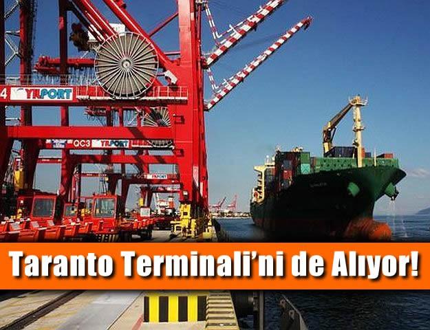 Taranto Terminali'ni de Alıyor!