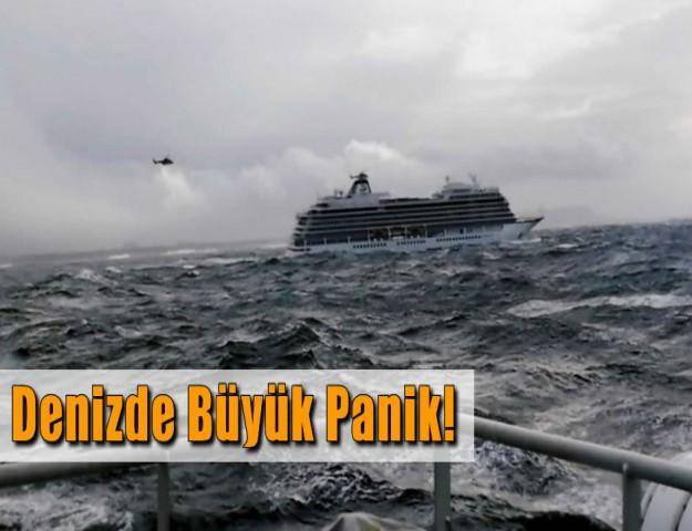 Denizde Büyük Panik!