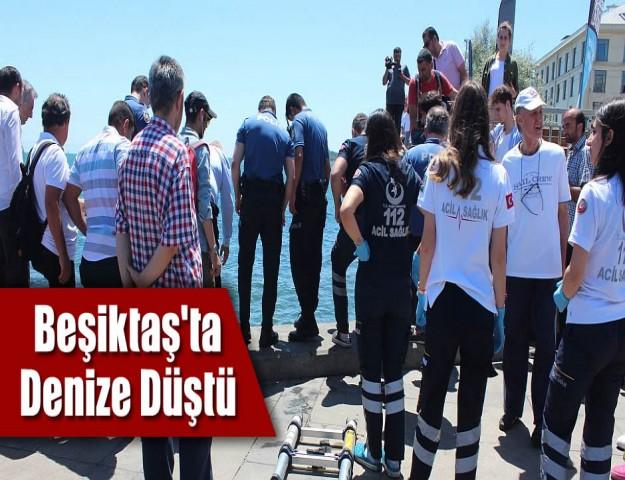 Beşiktaş'ta Bir Kadın Denize Düştü