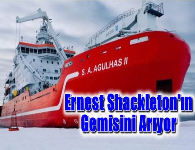 Ernest Shackleton'ın Gemisini Arıyor