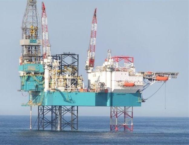 Dev Petrol Platform Gemisi Mersin'de
