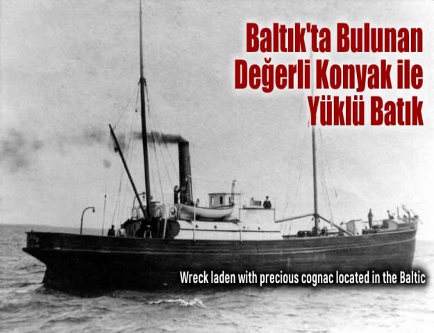 Baltık'ta Bulunan Değerli Konyak ile Yüklü Batık