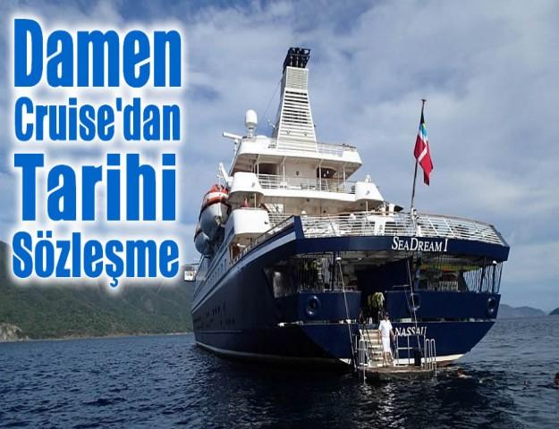Damen Cruise'dan Tarihi Sözleşme