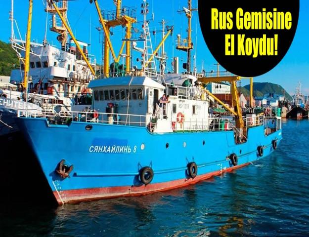 Rus Gemisine El Koydu!