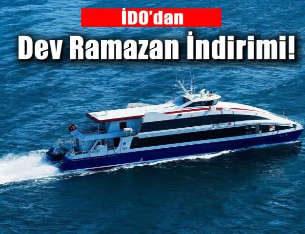 İDO'dan Dev Ramazan İndirimi!