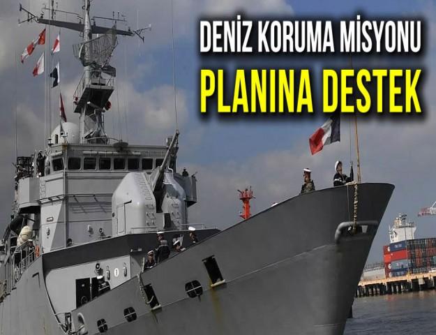 Deniz Koruma Misyonu Planına Destek