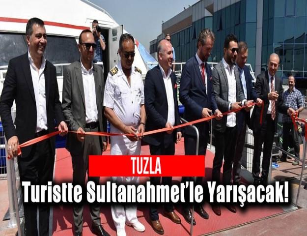 Tuzla, Turistte Sultanahmet'le Yarışacak!