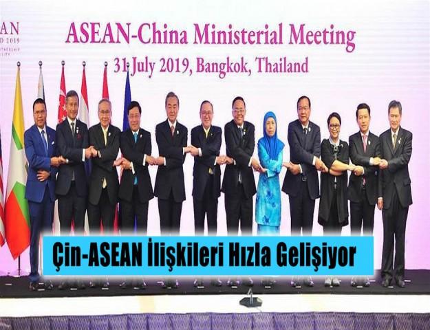 Çin-ASEAN İlişkileri Hızla Gelişiyor