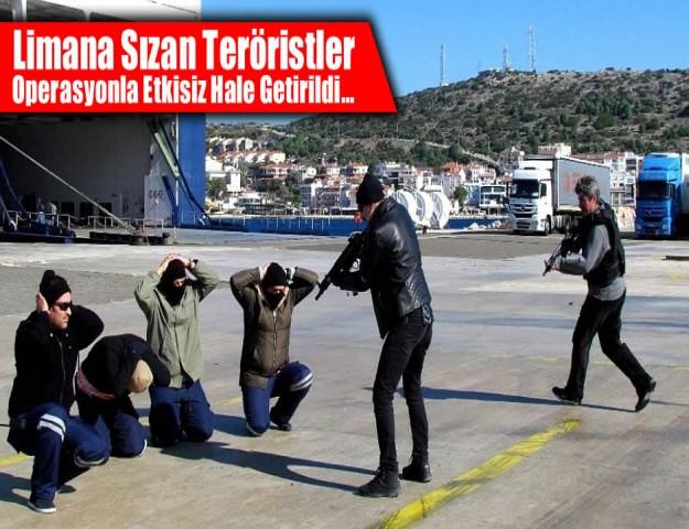 Limana Sızan Teröristler Operasyonla Etkisiz Hale Getirildi...