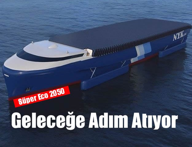 NYK, Geleceğe Süper Eco Gemi  ile adım atıyor