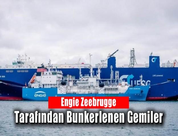 Engie Zeebrugge Tarafından Bunkerlenen Gemiler