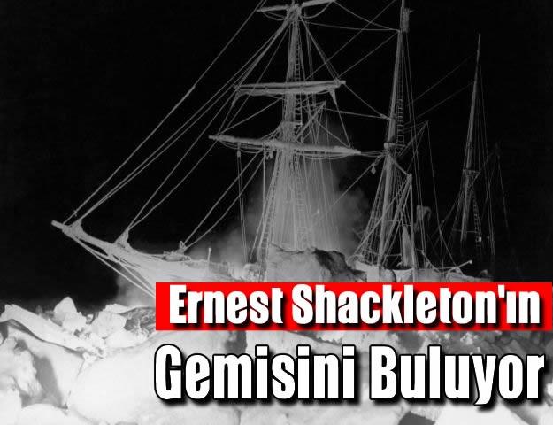 Ernest Shackleton'ın Gemisini Buluyor