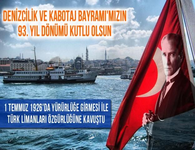 1 Temmuz 1926'da Yürürlüğe Girmesi ile Türk Limanları Özgürlüğüne Kavuştu