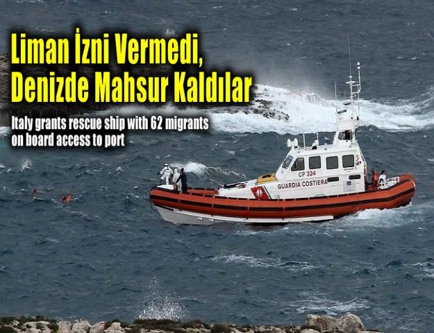 Liman İzni Vermedi, Denizde Mahsur Kaldılar
