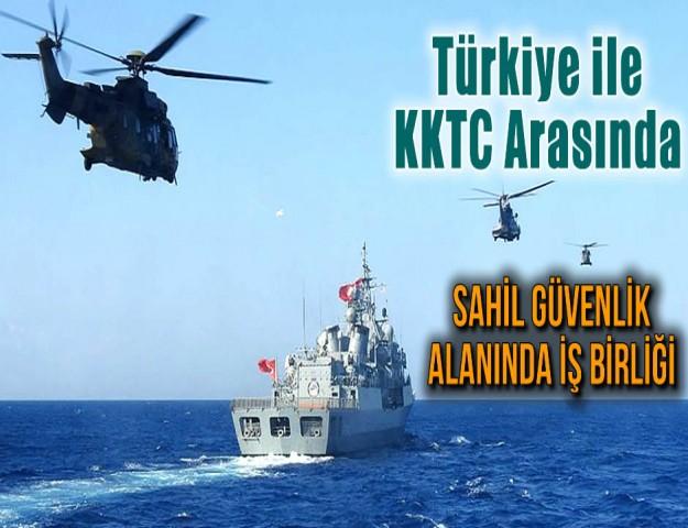Türkiye ile KKTC Arasında Sahil Güvenlik Alanında İş Birliği