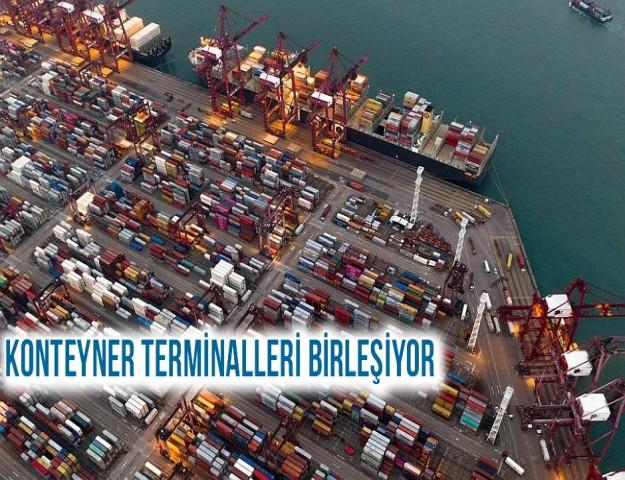 Konteyner Terminalleri Birleşiyor