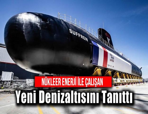 Nükleer Enerji ile Çalışan Yeni Denizaltısını Tanıttı