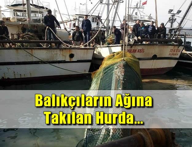 Balıkçıların Ağına Takılan Hurda...