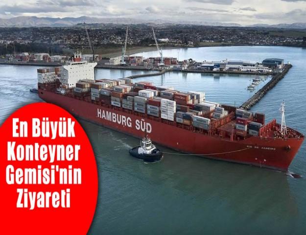 En Büyük Konteyner Gemisi'nin Ziyareti