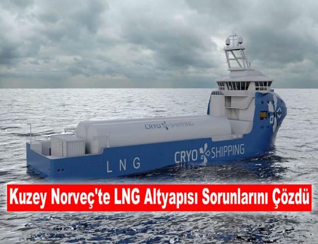 Kuzey Norveç'te LNG Altyapısı Sorunlarını Çözdü