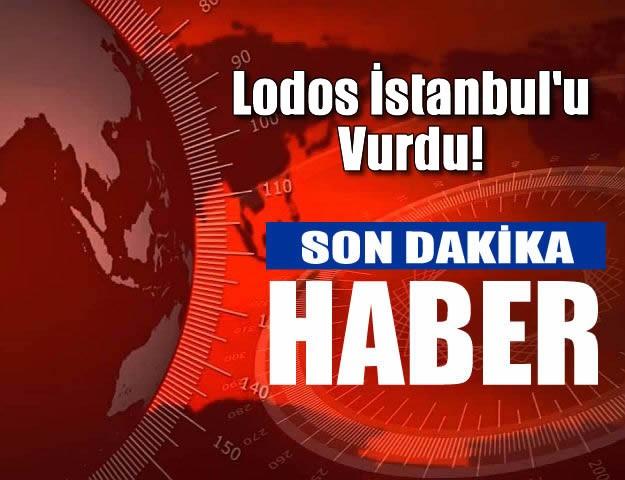 Lodos İstanbul'u Vurdu! Vapur Seferleri İptal Edildi
