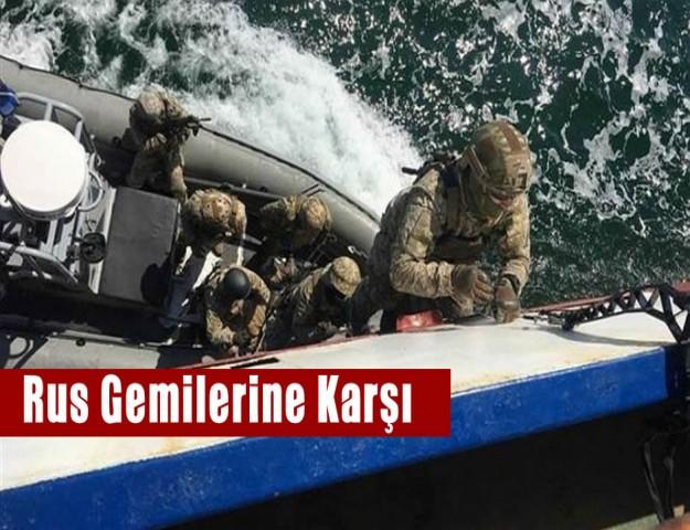 Rus Gemilerine Karşı!