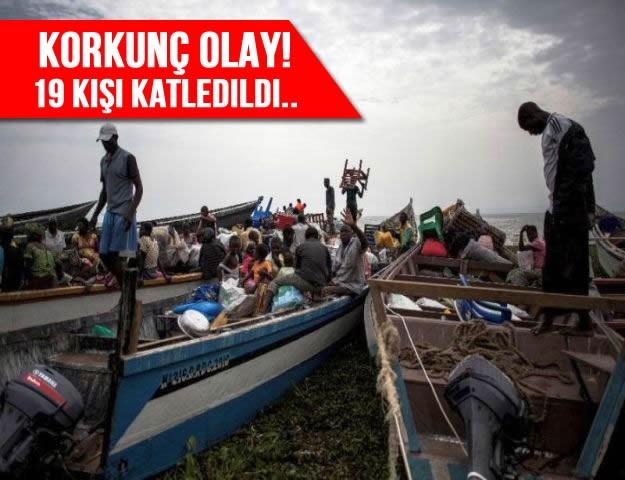 Korkunç Olay! 19 Kişi Katledildi..