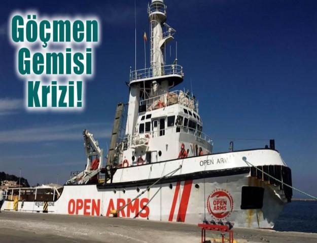 Göçmen Gemisi Krizi!