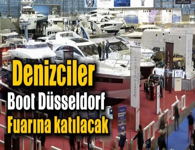 Denizciler Boot Düsseldorf Fuarına katılacak