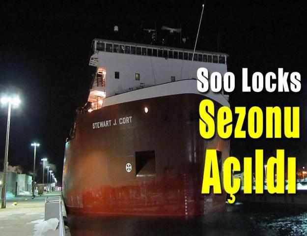 Soo Locks Sezonu Açıldı